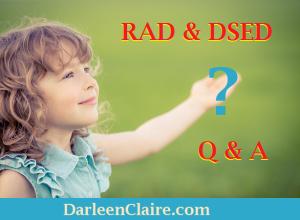 RAD & DSED Q&A
